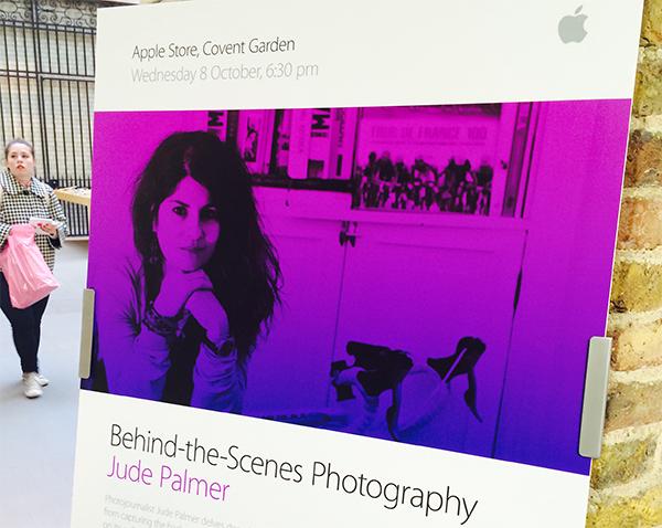 Jude @ Apple Store – Covent Garden